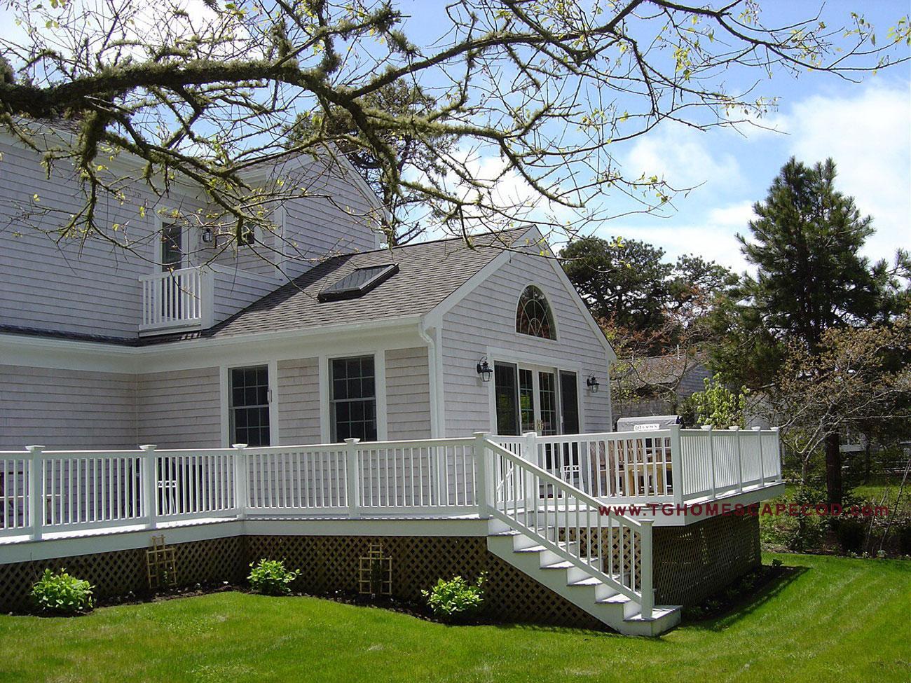 Tg homes cape cod home design build services new for Cape cod builder